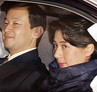 В 2003 г. Масако была госпитализирована с диагнозом опоясывающий лишай, под которым, как подозревают СМИ, скрывается глубокое нервное расстройство