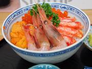 Морепродукты с Хоккайдо