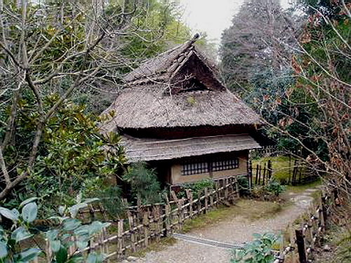 Чайный домик в стиле ямадзато