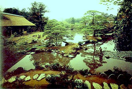 Японские сады. Этапы перемен