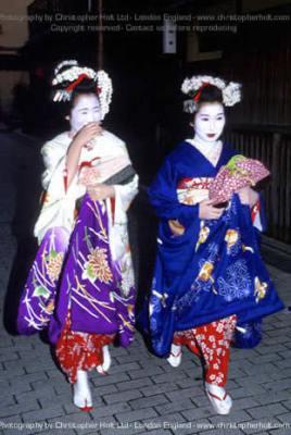 Гейша в Киото