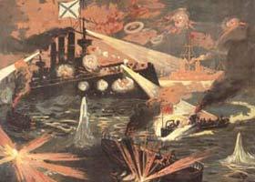 Отбитая атака японцев у Порт-Артура