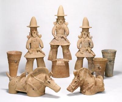 Глиняные фигурки ханива