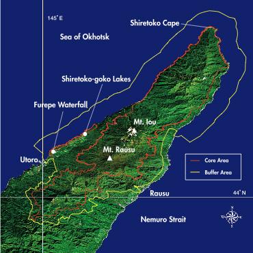 Карта Сирэтоко