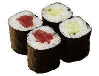 Основные виды суши Sushi_hosomaki