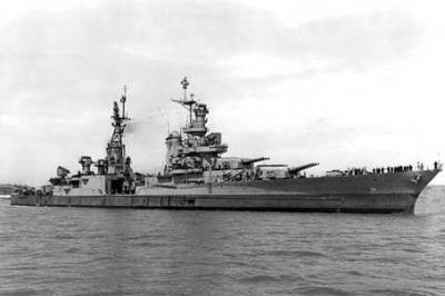 Крейсер Индианаполис, 10 июля 1945 г.
