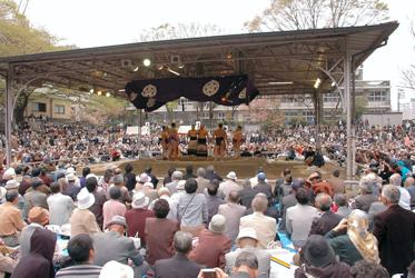 Арена для поединков сумо